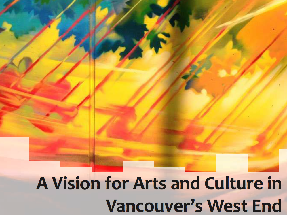 A vision for arts and culture in Vancouver's West End