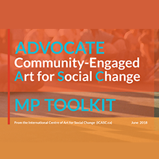 ADVOCATE Community-Engaged Art for Social Change | MP TOOLKIT